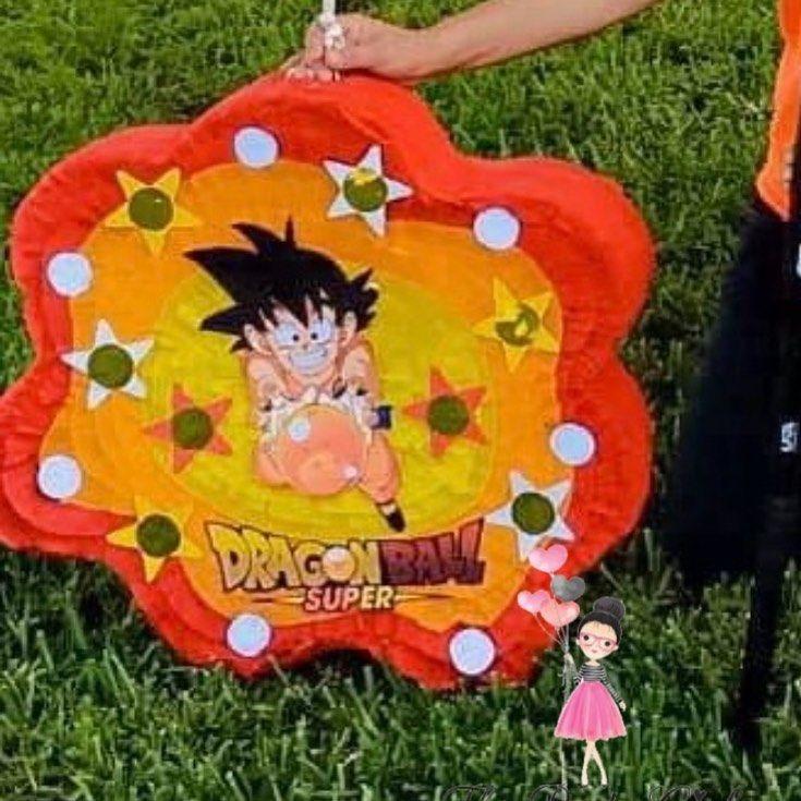 "letty aguilera🌸 on Instagram: ""Dragon Ball Z #dragonballz #piñata #dragonball"" in 2020 ..."