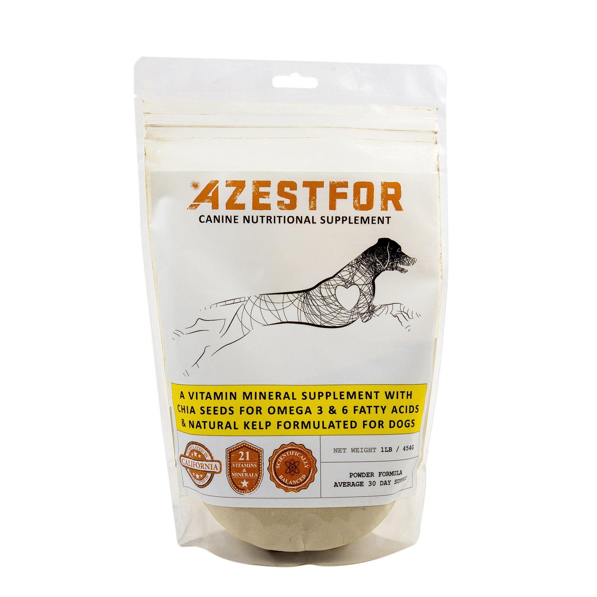 Azestfor Canine Nutritional Supplements Homemade Dog Food Vitamins Homemade Dog Homemade Dog Food Dog Vitamins
