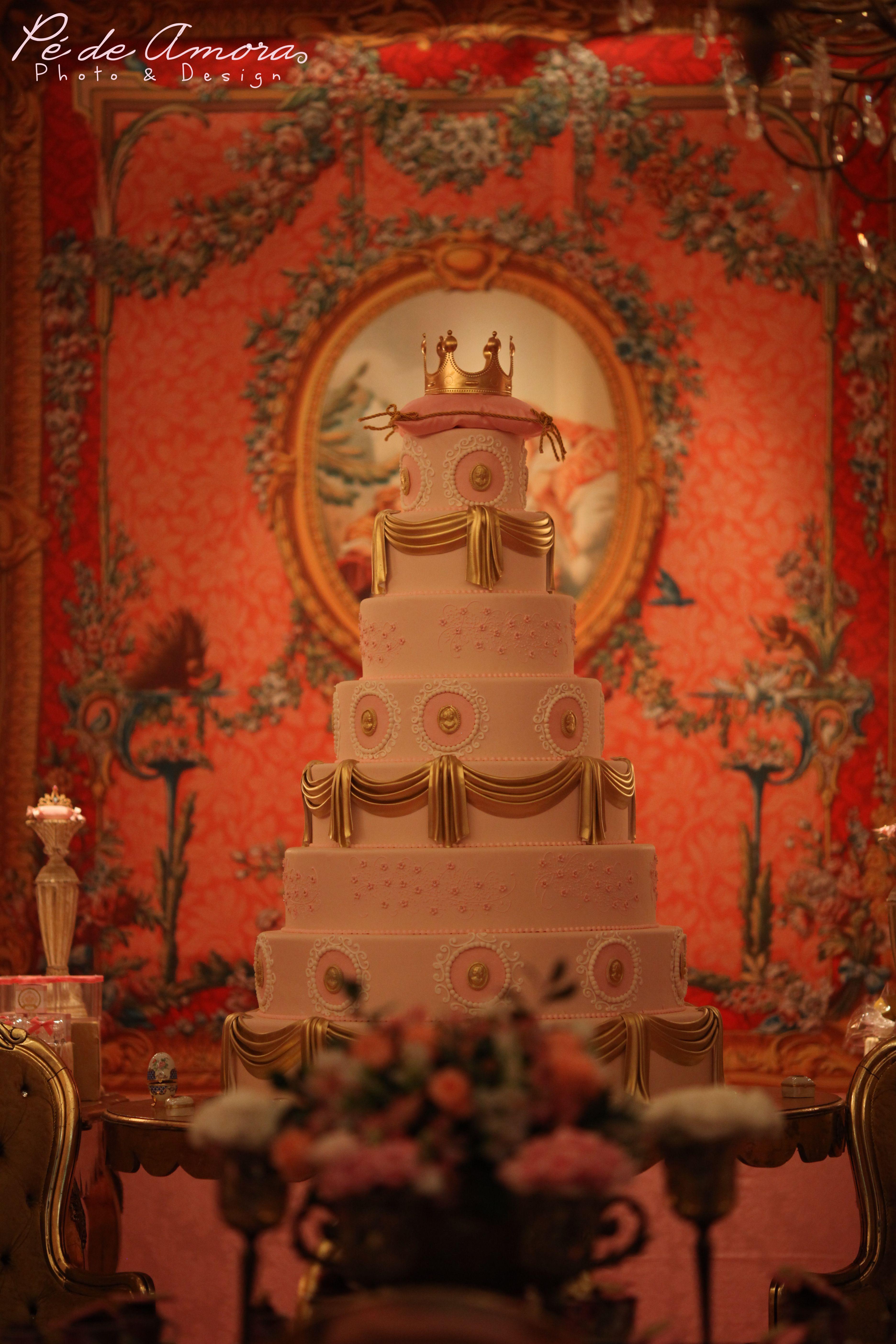 Decoracao fazendinha luxo bolo falso ccs decoracoes eventos car - Festa Princesas De Luxo By Mabel Manzi E Splash Party