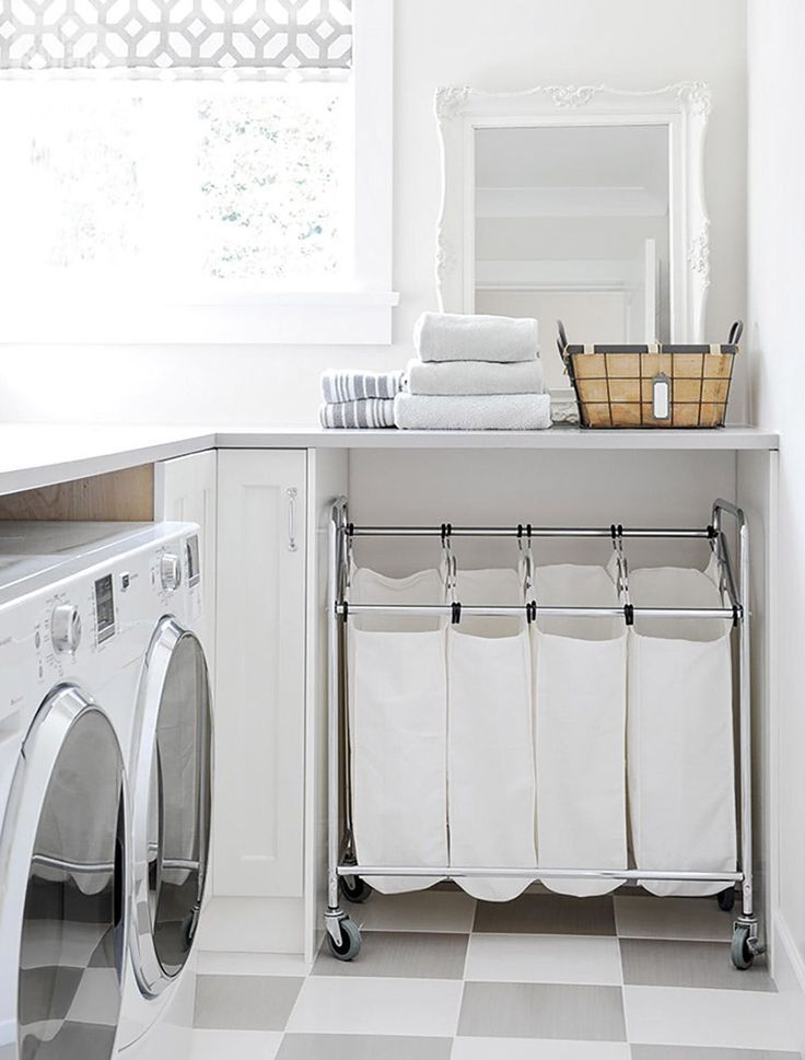 Clever Ideas To Make The Most Of A Small Laundry Room Laundry