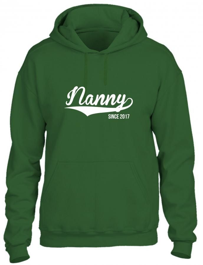 nanny since 2017 Hoodie