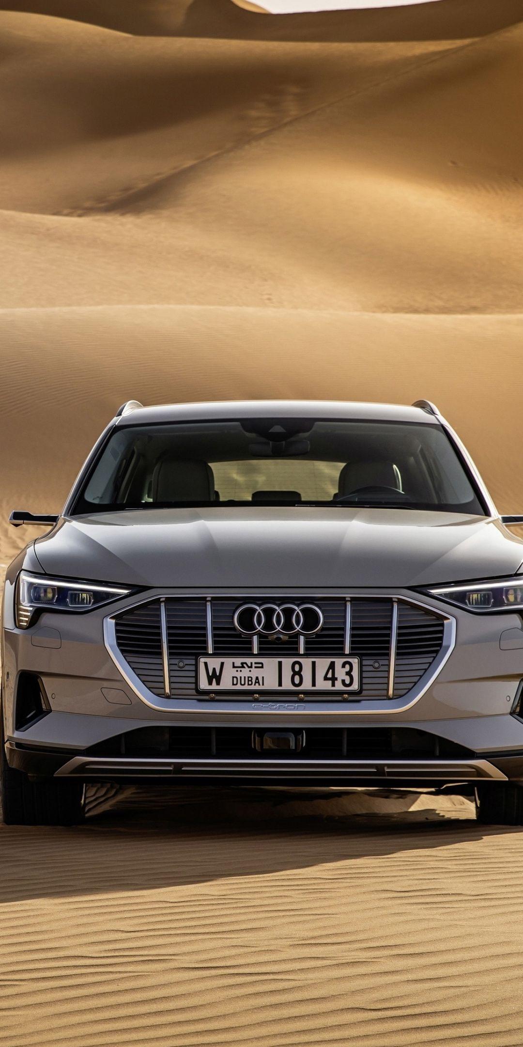 Desert Off Road Audi E Tron Quattro Electric Suv 1080x2160