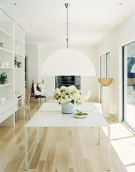 Wonderful Fantastic Light And Flower Pot Beneath. Love The Sliding Doors, Light Wood  Floors, Light Flooding In.