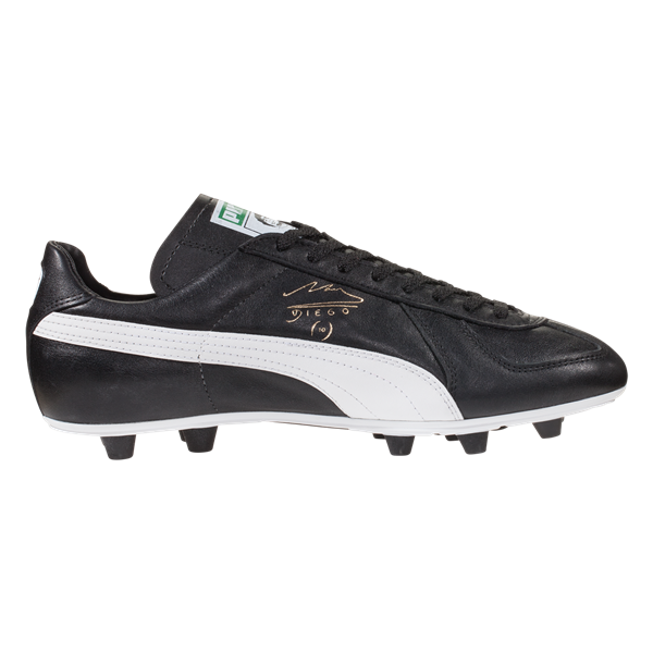 90cce6e194fe3a PUMA King Maradona Super FG Soccer Cleat - Black White Team Gold ...
