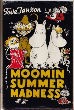 MOOMIN VALLEY Moomintroll Snork Little My Cotton Handkerchief  one piece 002 Red