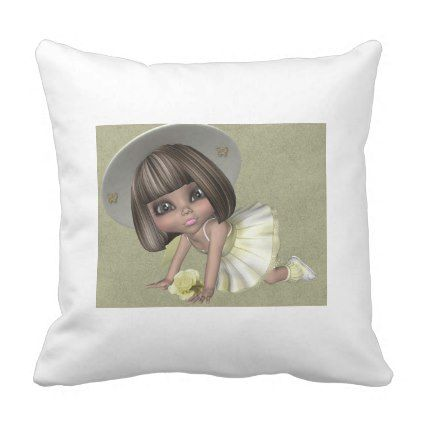 Little Sally PILLOW - home gifts ideas decor special unique custom