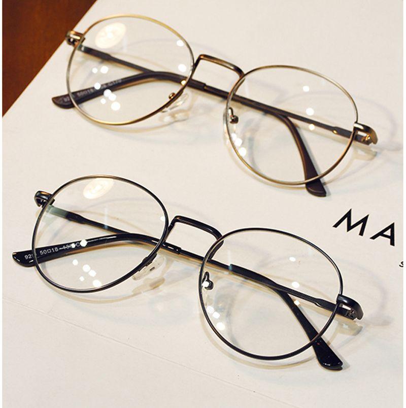 5abc6d7a70 DRESSUUP Vintage Clear Lens Anti Fatigue Women Brand Design Men Glasses  Round Eyeglasses Frame Oculos De Grau Femininos Gafas