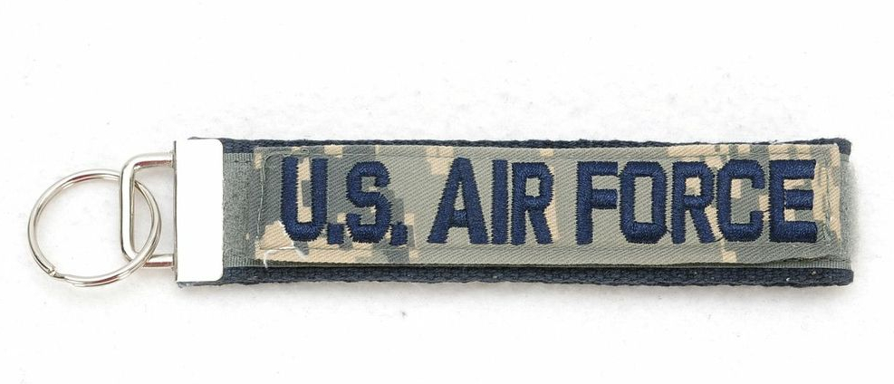 Show your pride by carrying your keys on this U.S. Air