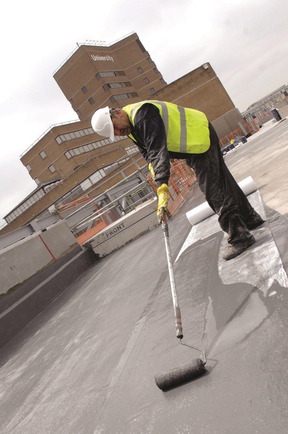 Liquid Waterproofing Key Differences Between Wet On Wet And Wet On Dry Applications Liquid Waterproofing Flat Roof