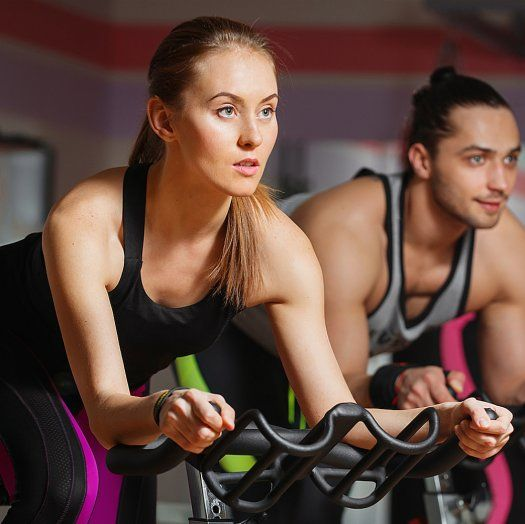 Indoor Cycling Instructors Reveal Their Go To Tricks For Powering Through Class Shape Com Biking Workout Spinning Workout Cycling Workout
