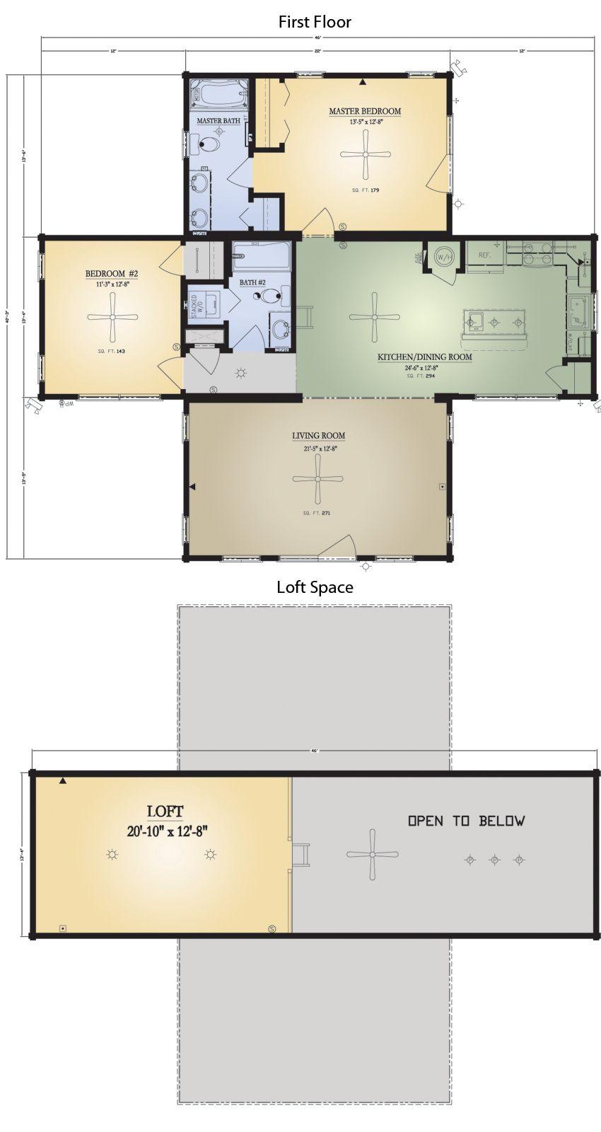 Flat Rock I Log Home Floor Plan Blue Ridge Log Cabins Log Home Floor Plans House Floor Plans Floor Plans