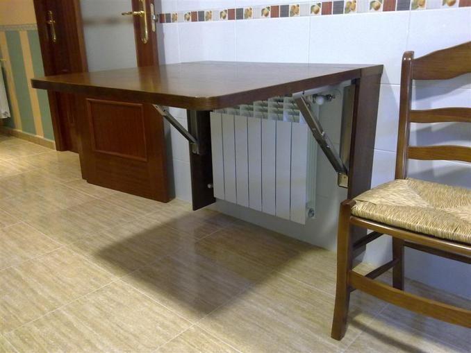 Mesa de cocina plegable cocina pinterest mesas de for Mesas cocina plegables