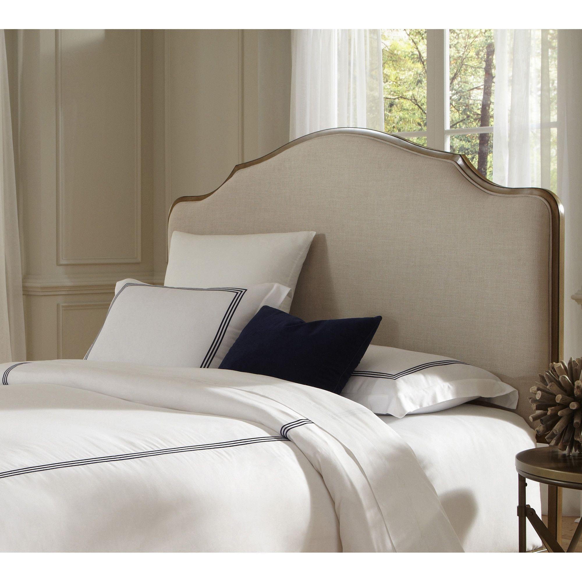 Fashion bed group calvados metal grey headboard in natural oak