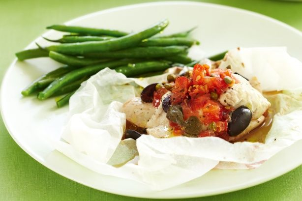 Olive and tomato chicken