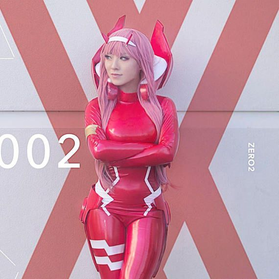 098e644f160 Darling in the Franxx 002 Zero Two Armor Instruction Manual Cosplay Pattern
