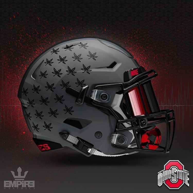 Pin by danal on football concepts and art ohio state