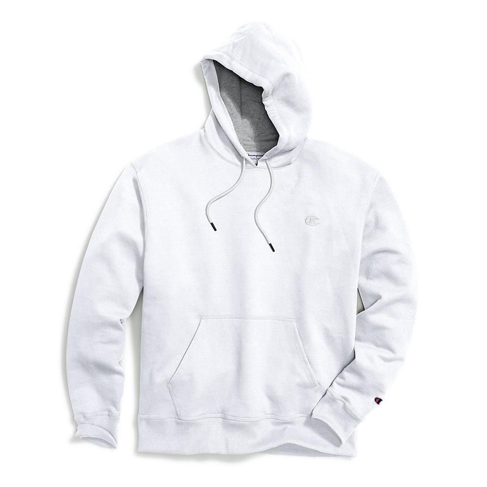 Champion Mens Hoodie Sweatshirt Fleece Powerblend Sweats Pullover Front Pouch