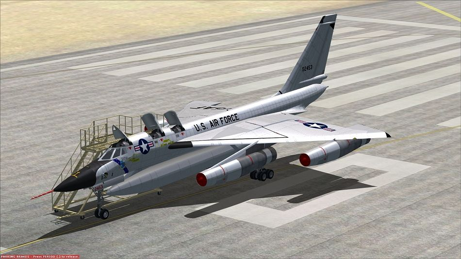 Those sweet Convair hustler aircraft