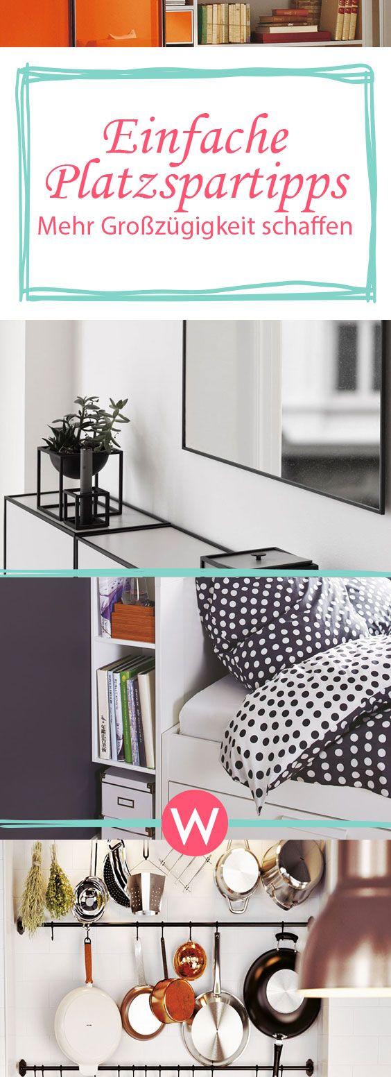 7 einfache Platzspartipps für kleine Räume  Wohnidee  Kleine