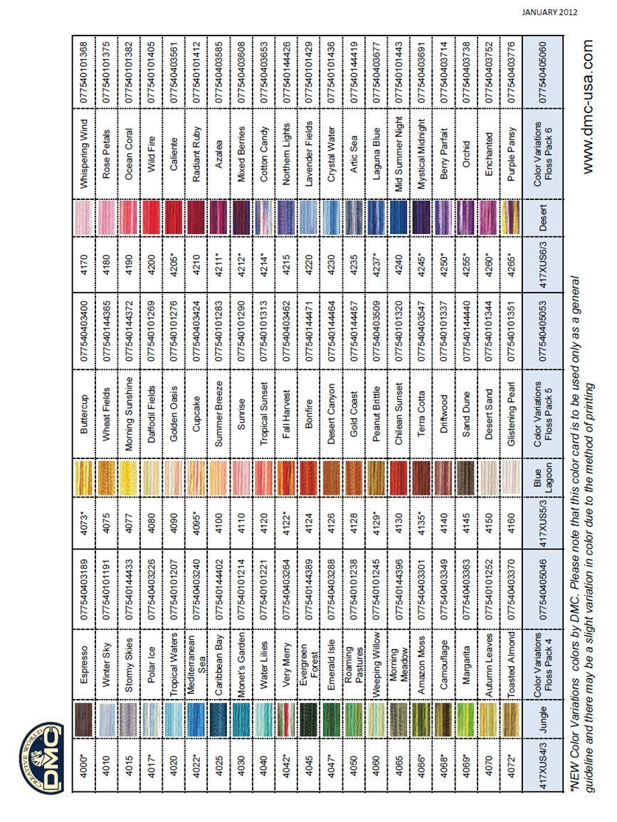 all those dmc colours a cross stitches dream dmc thread free
