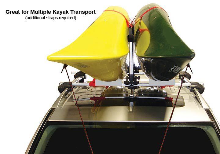 thule kayak stacker for 2 canoes kayaks