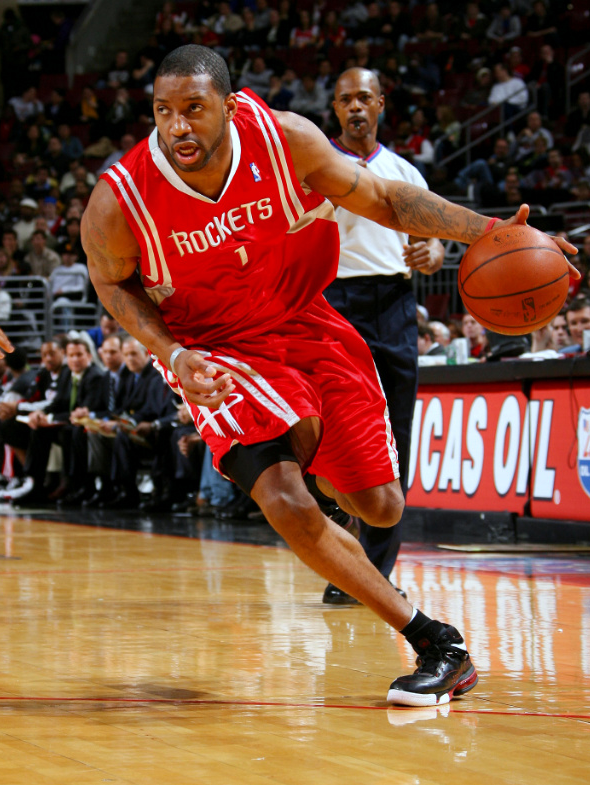 Whether You Remember Tracy Mcgrady S Career For The Low Points His Playoff Futility Or The High 13 Points In 35 S Tracy Mcgrady Houston Rockets Nba Pictures