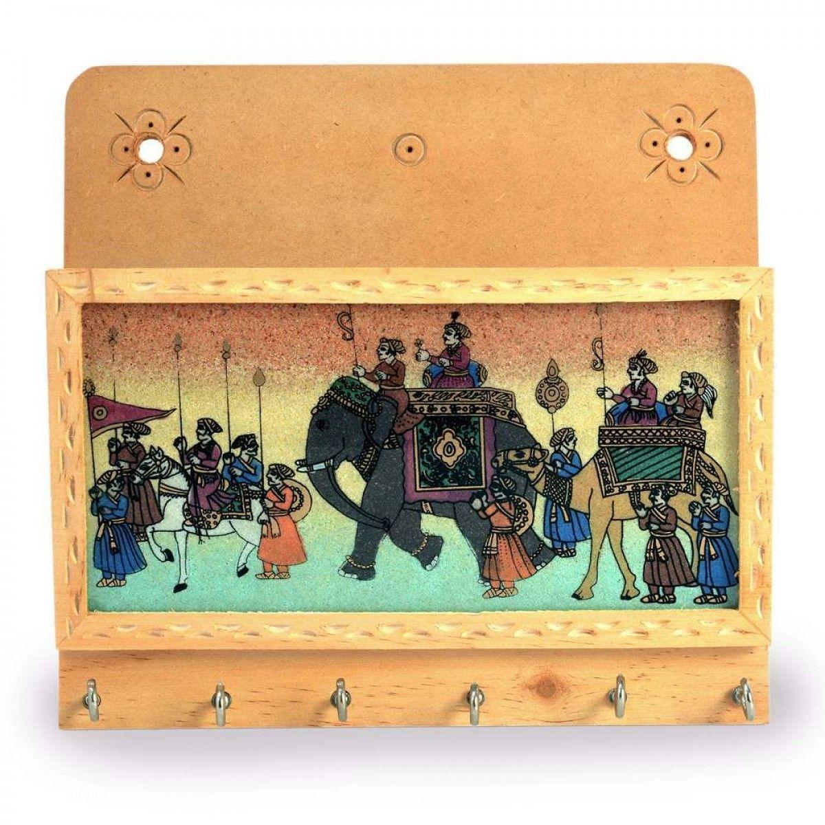 Gemstone Painted Keys Letter Holder Handicraft 104   Home Decor ...
