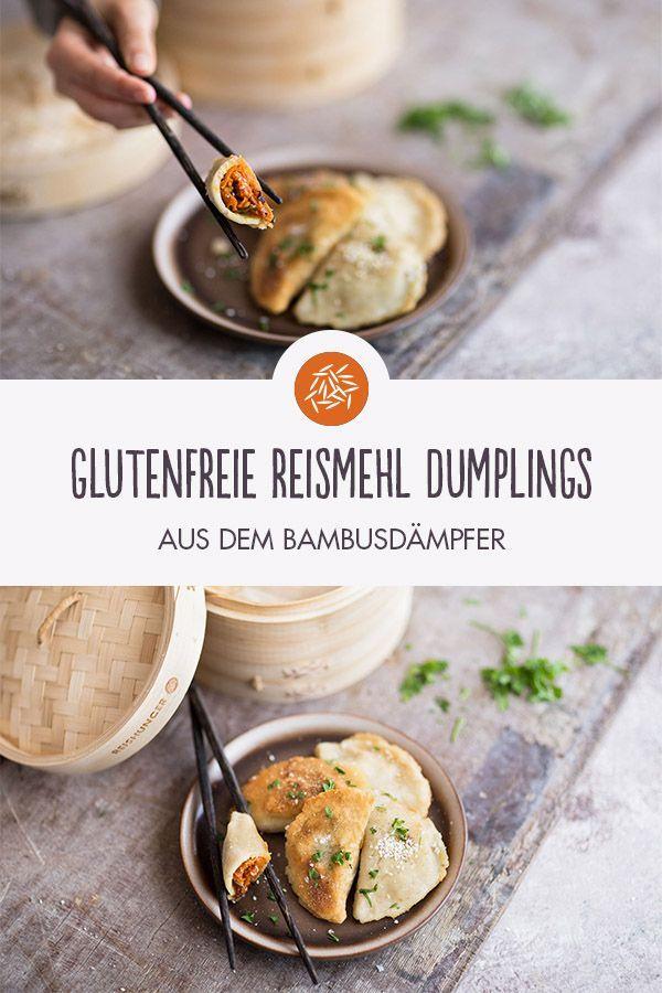 Rezept für Glutenfreie Reismehl Dumplings