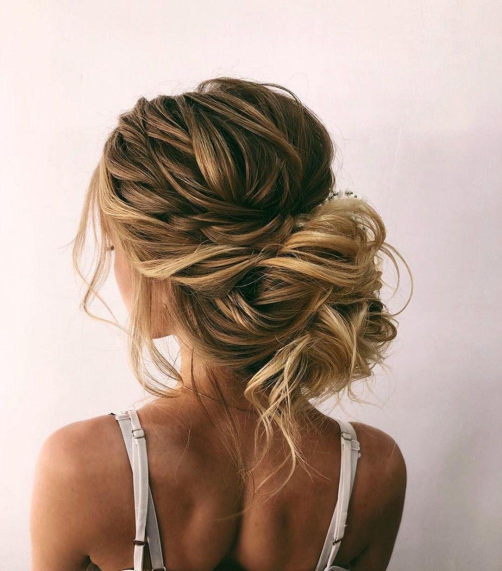 Beautiful Bridal Updos Hairstyle Inspiration - Oksana Sergeeva #messyupdos