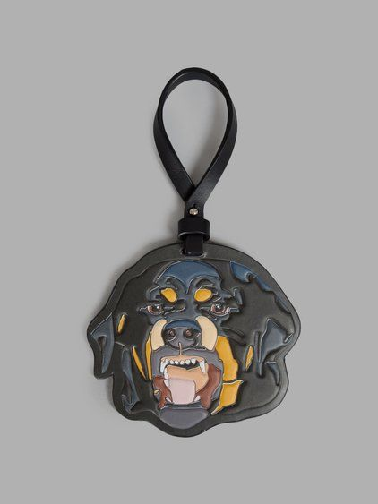 053a4ae0f GIVENCHY Givenchy Multicolor Rottweiler Keychain. #givenchy #keychains