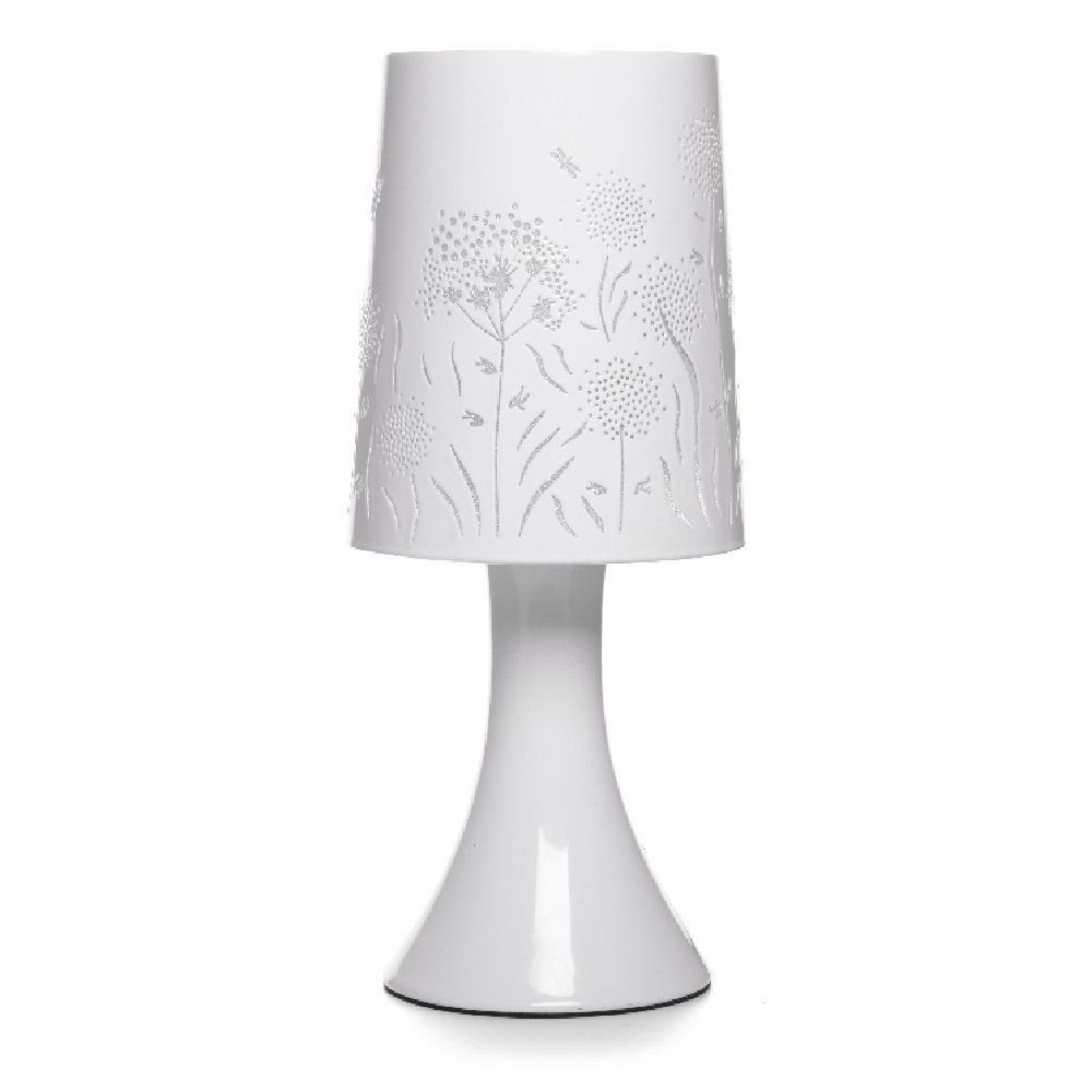 Lampe Touch Blanche Design Fleurs In My New Place