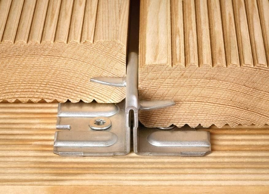 Best Hidden Fastening Systems For Decking Timber Deck Deck Over Concrete Home Layout Design
