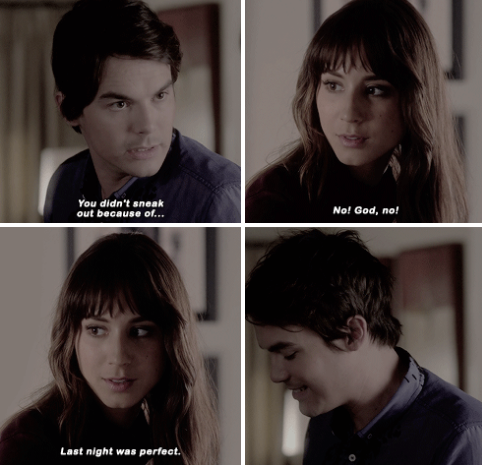 spencer and caleb dating pll