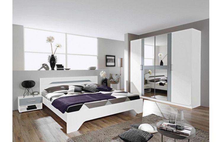 Schlafzimmer Rubi Alpinweiss Alufarbig Online Bei Poco Kaufen