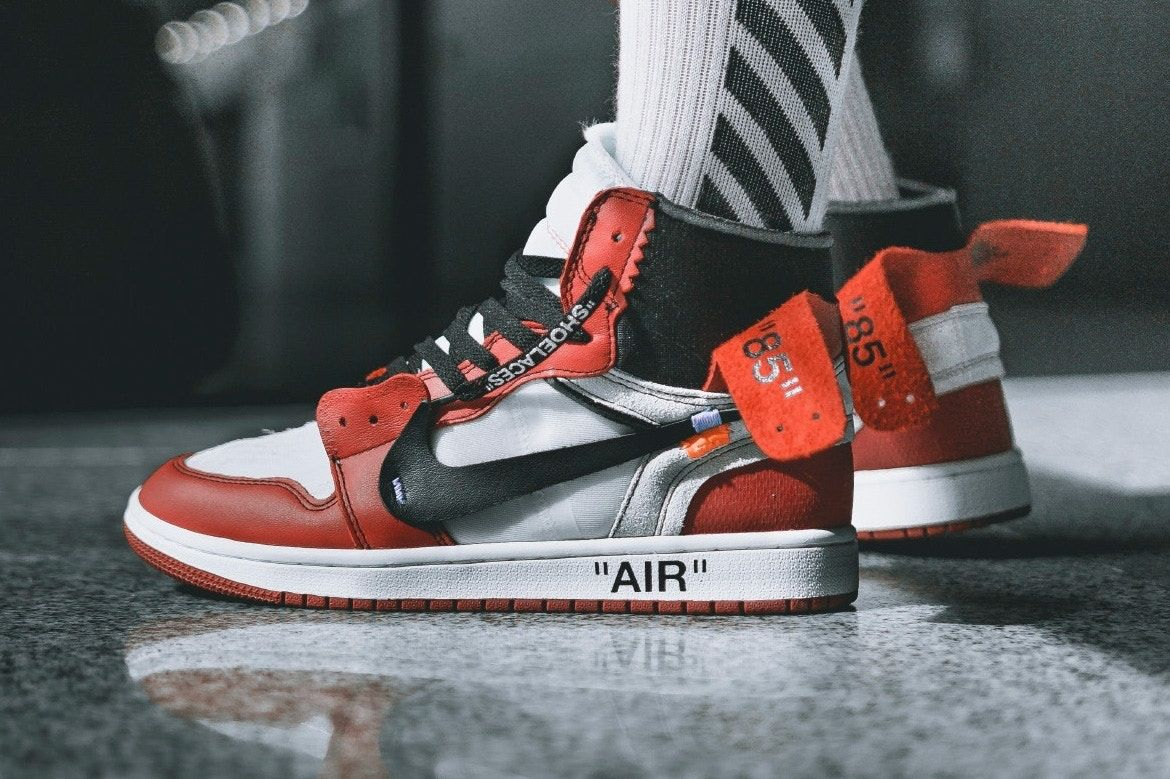 Jordan Brand will collaborate with Virgil Ablohs (OFF-White) Label for an  official OFF-WHITE Air Jordan 1 Chicago release.