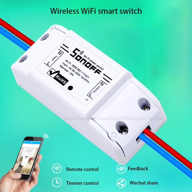 2016 Neue Sonoff Smart Home Drahtlose Fernbedienung Wifi Schalter
