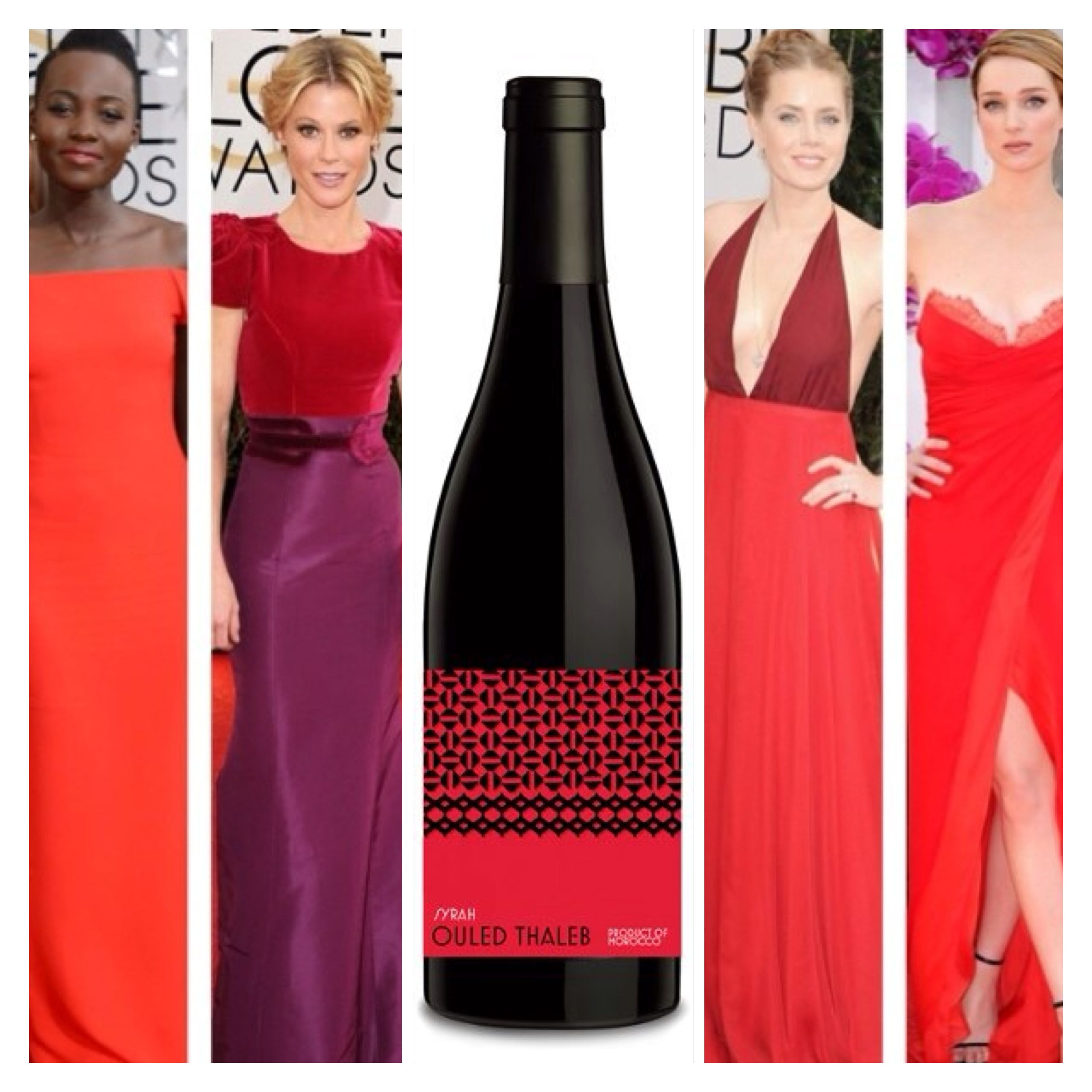 Golden Globes Who Wore It Best Moroccan Syrah Form Ouled Thaleb Red Wine Wins Wine Syrah Red Wine