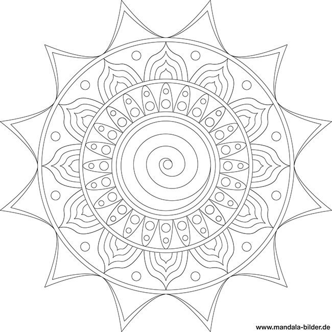 anspruchsvolles mandala für erwachsene  steine