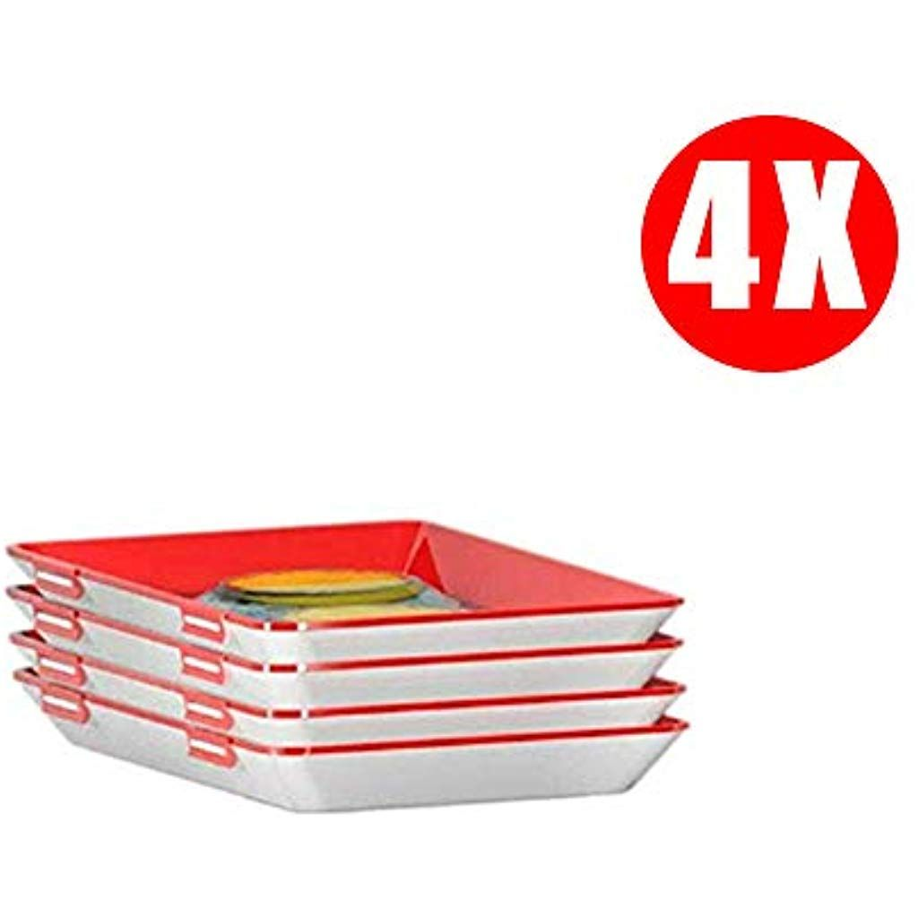 LENDIAN Hochwertige Aufschnitt Boxen Platzsparend Stapelbar