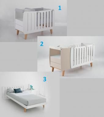 Cuna Harmony Blanco/Blanco | Babies, Kids furniture and Room