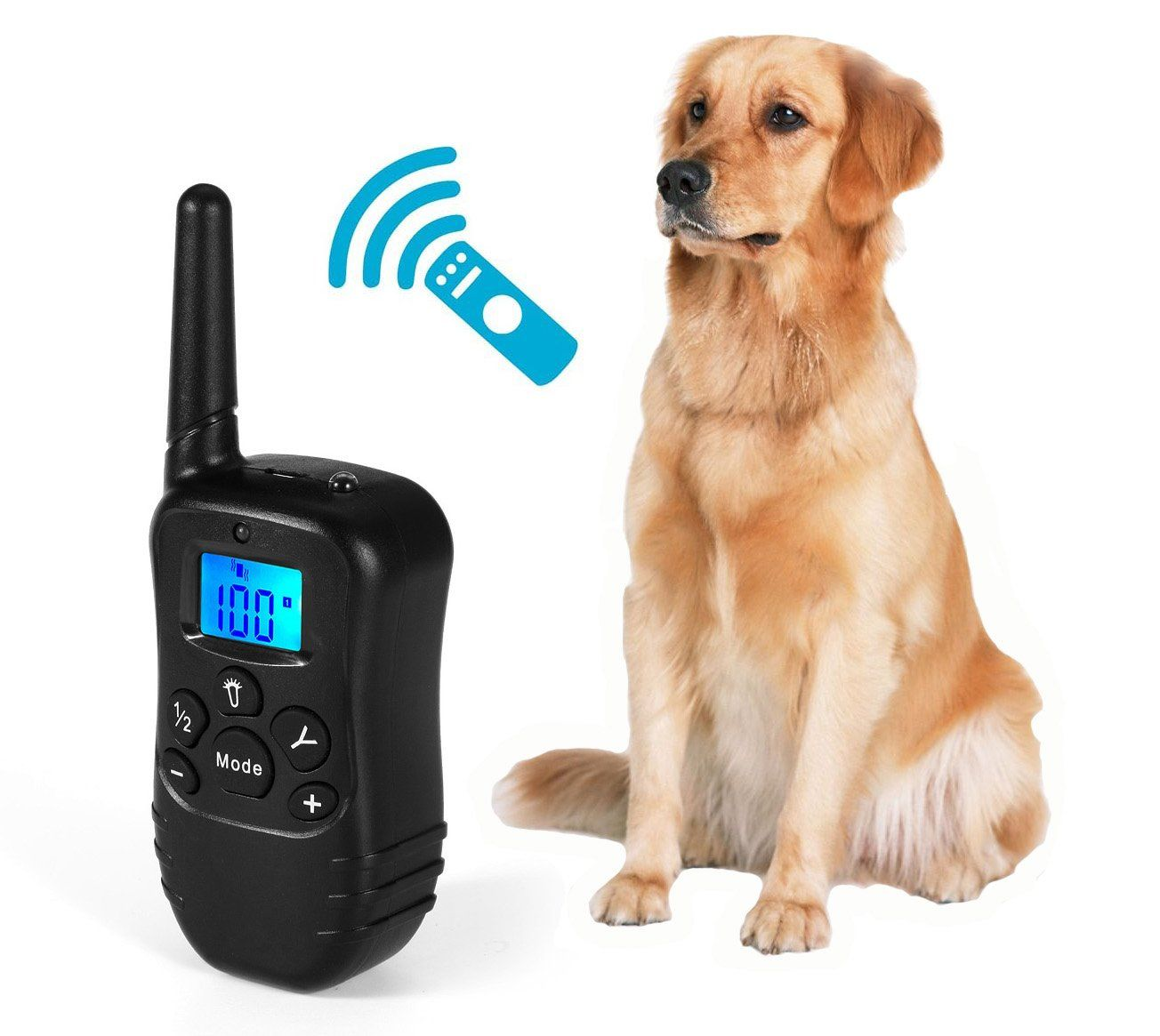 Ouzen Remote Dog Training Collar Rechargeable Waterproof