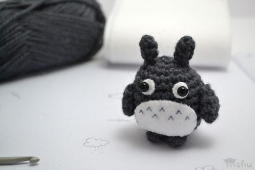 Amigurumi Nedir Nasıl Yapılır : Amigurumi totoro free crochet pattern from mohu crafts