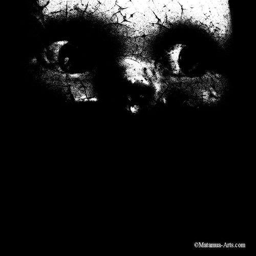 Face Dark Zombie Horror 11x17 Photography Art Print by MatamuaArt, $30.00