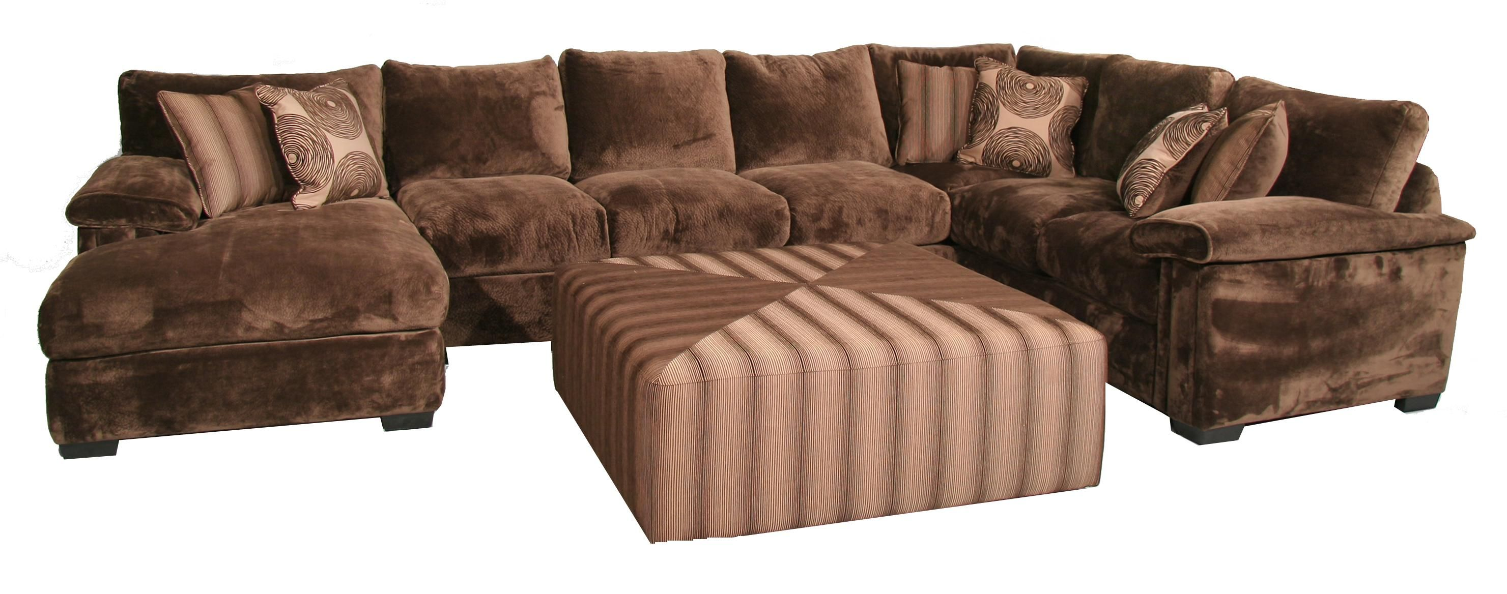 Lola 3 Piece Sectional Sofa By Fairmont Seating For The
