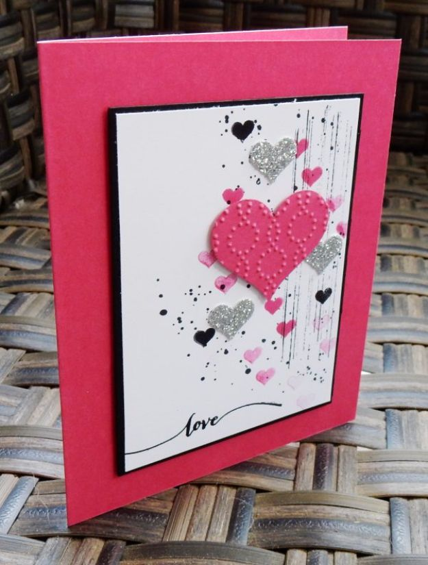 50 Thoughtful Handmade Valentines Cards – Unique Valentine Card Ideas