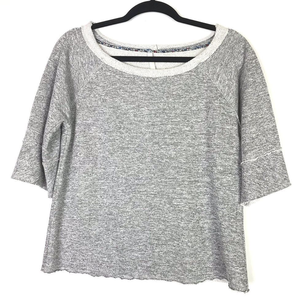7f1399b3ce727 Anthropologie Dolan Left Coast Womens Top Size S Heather Gray Raglan Sleeve  #fashion #clothing