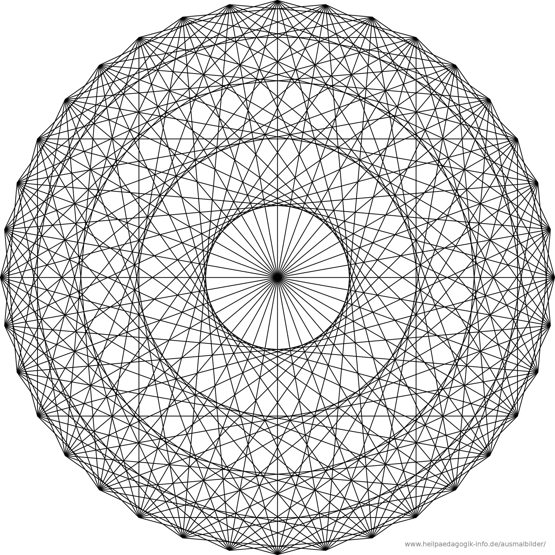 malvorlage mandala | ausmalbilder | Pinterest | Malvorlagen mandala ...