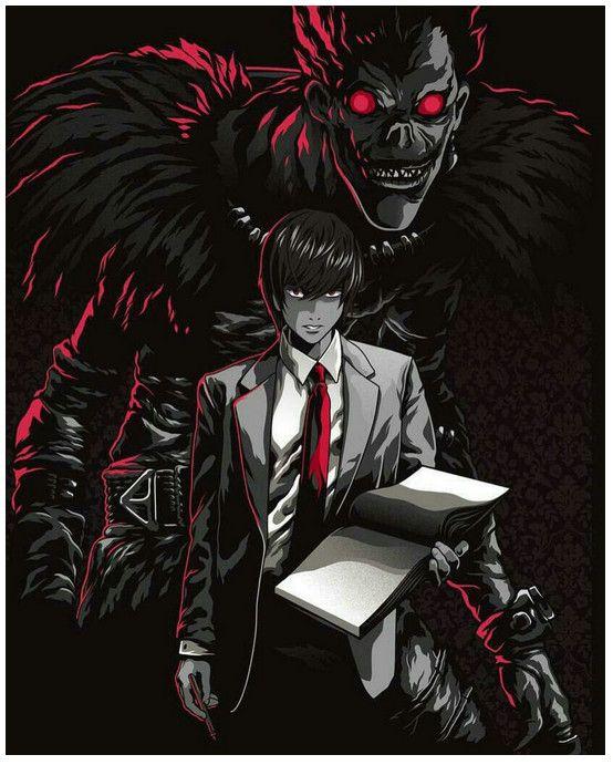 Death Note Wallpaper 4k : death, wallpaper, Wallpaper, Ideas, Death, Anime, Wallpaper,
