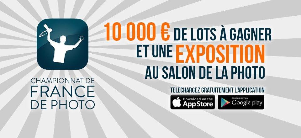 #chronoshooting 2015, 1er Championnat de France de photo. De nombreux lots à gagner! Réalisez les parcours avec un Reflex ou votre Smartphone et participez.