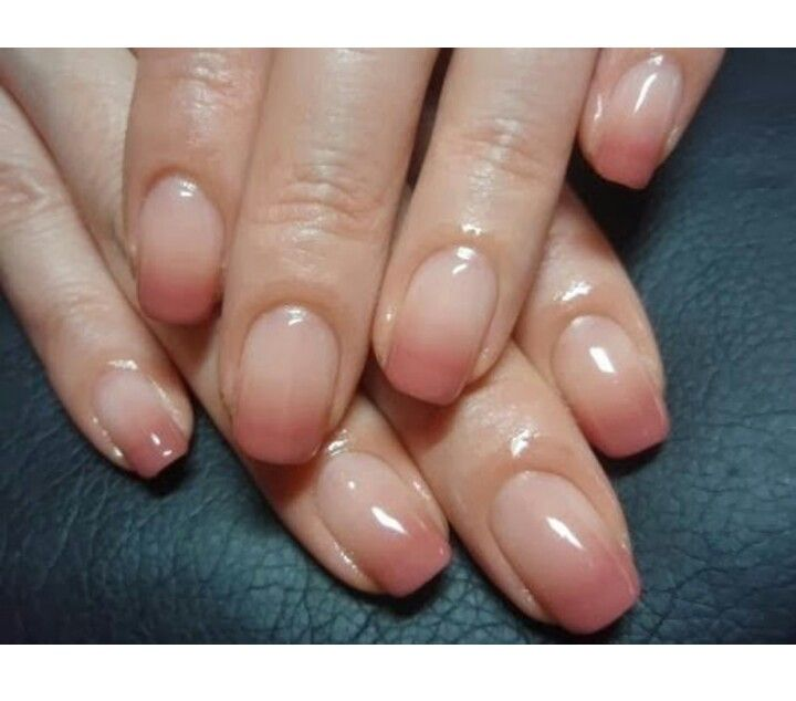 Cute!! | nails tutorial | Pinterest | Nude nails, Nail nail and Ombre